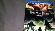 Attack on Titan Season 2 Blu-Ray/DVD Unboxing