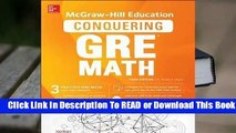 Full E-book McGraw-Hill Education Conquering GRE Math, Third Edition  For Trial
