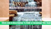 [Read] Java How to Program (Late Objects)  For Kindle