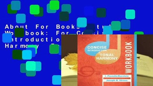 About For Books Student Workbook: For Concise Introduction ...