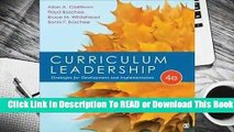 Full E-book Curriculum Leadership: Strategies for Development and Implementation  For Free