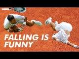 Roger Federer - Master Of Making Opponents Fall