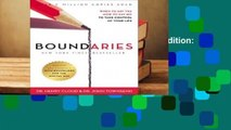 Boundaries Updated and Expanded Edition: When to Say Yes, How to Say No To Take Control of Your