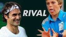 Roger Federer - Rival of ball boys