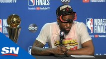 Kawhi Leonard On What It Means To Win NBA Championship With Raptors