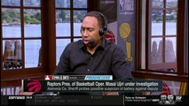 Stephen A. Smith REACTS TO Raptors Pres. of Basketball Oper. Masai Ujiri under investigation