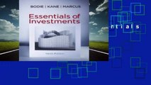 About For Books  Essentials of Investments by Zvi Bodie
