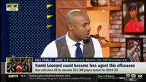 Jay Williams reacts to Kawhi Leonard could become free agent this offseason - GET UP