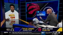 Kyle Lowry Joins SVP REACTS TO Raptors crowned NBA champions for first time in team history