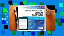 Full version  Social Work Aswb Clinical Exam Guide, Second Edition: A Comprehensive Study Guide