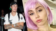 Justin Bieber Gushes Over Miley Cyrus' Ashley O Character Pic