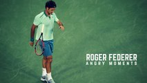 Tennis TOP5 - Roger Federer Angry Moments