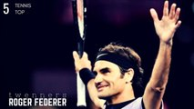 Tennis TOP5 - Roger Federer Amazing Tweeners