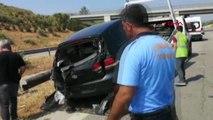 MERSİN Uzman çavuşlar kaza yaptı 2 ölü, 1 yaralı