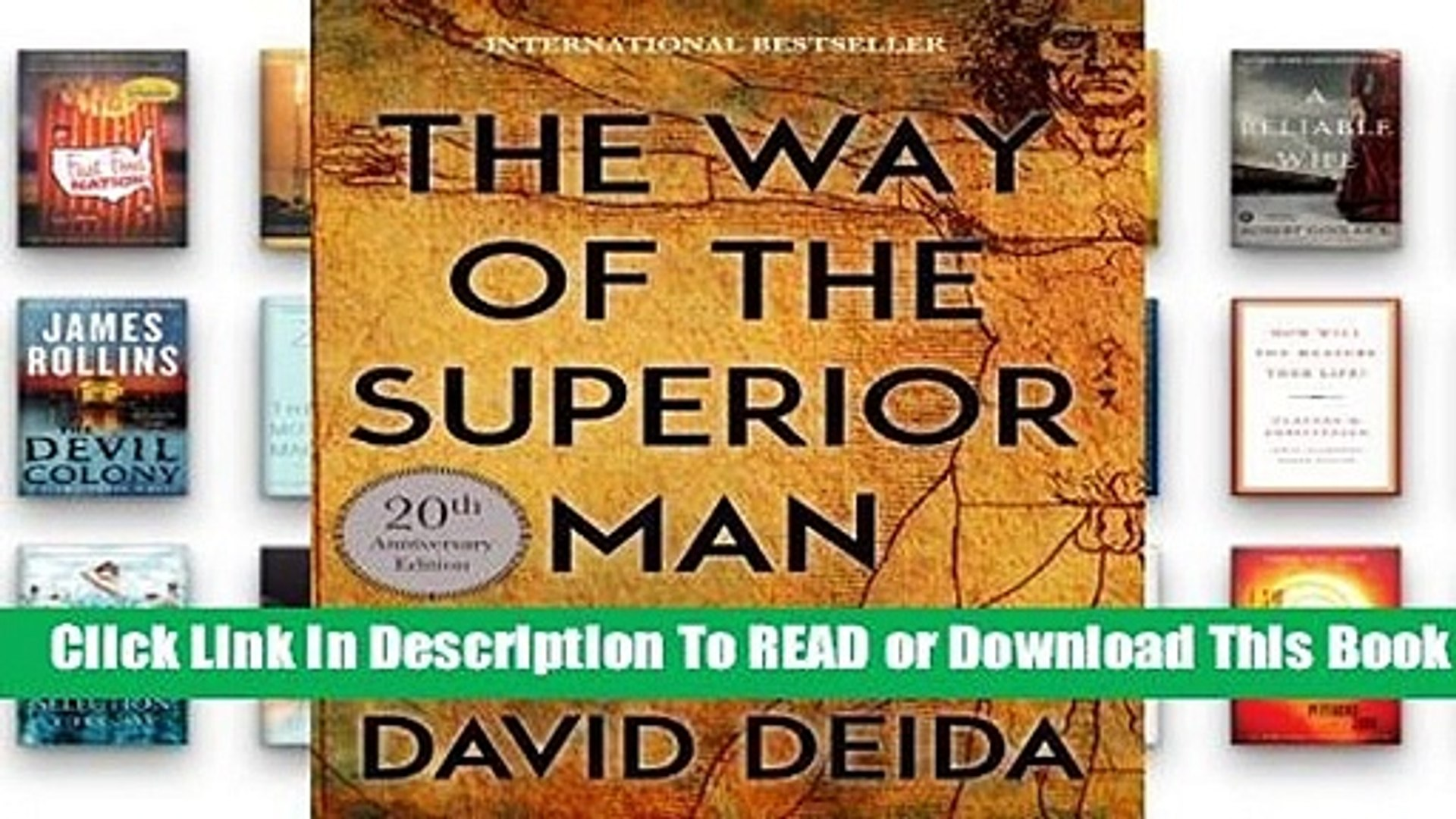 About For Books  The Way of the Superior Man: A Spiritual Guide to Mastering the Challenges of