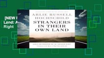 [NEW RELEASES]  Strangers in Their Own Land: Anger and Mourning on the American Right