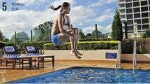 TennisTOP5 - Ana Ivanovic Funny Moments
