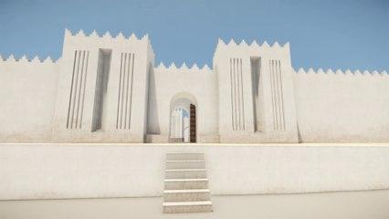 L'ezida de Nimrud. Restitution 3D