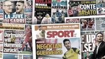 L'Inter prêt à lâcher 120M€ cet été, Le Borussia Dortmund veut récupérer un cadre du Bayern Munich