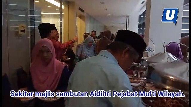 Rumah terbuka Mufti Wilayah Persekutuan