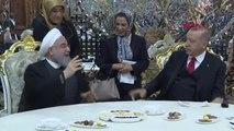 DHA DIŞ - Cumhurbaşkanı Erdoğan, İran Cumhurbaşkanı Hasan Ruhani ile görüştü
