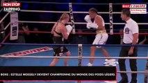 Boxe : Estelle Mossely, nouvelle championne IBO des poids légers (Vidéo)