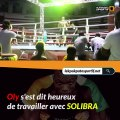 Le champion du monde de la boxe Thailandaise, Oly Yves célébré par la boisson XXL