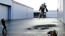 Building a real flying Iron Man Suit with Adam Savage