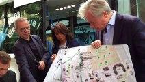 Nancy : Laurent Hénart présente la navette 100% électrique qui sillonnera le centre ville à partir de septembre