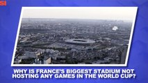 World Cup Daily: Explaining France's Stadium Situation