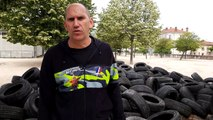 Valence: les obstacles de la Valence Spahis Race sortent de terre