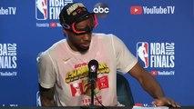 Kawhi Leonard Postgame Interview - Game 6  Raptors vs Warriors  2019 NBA Finals