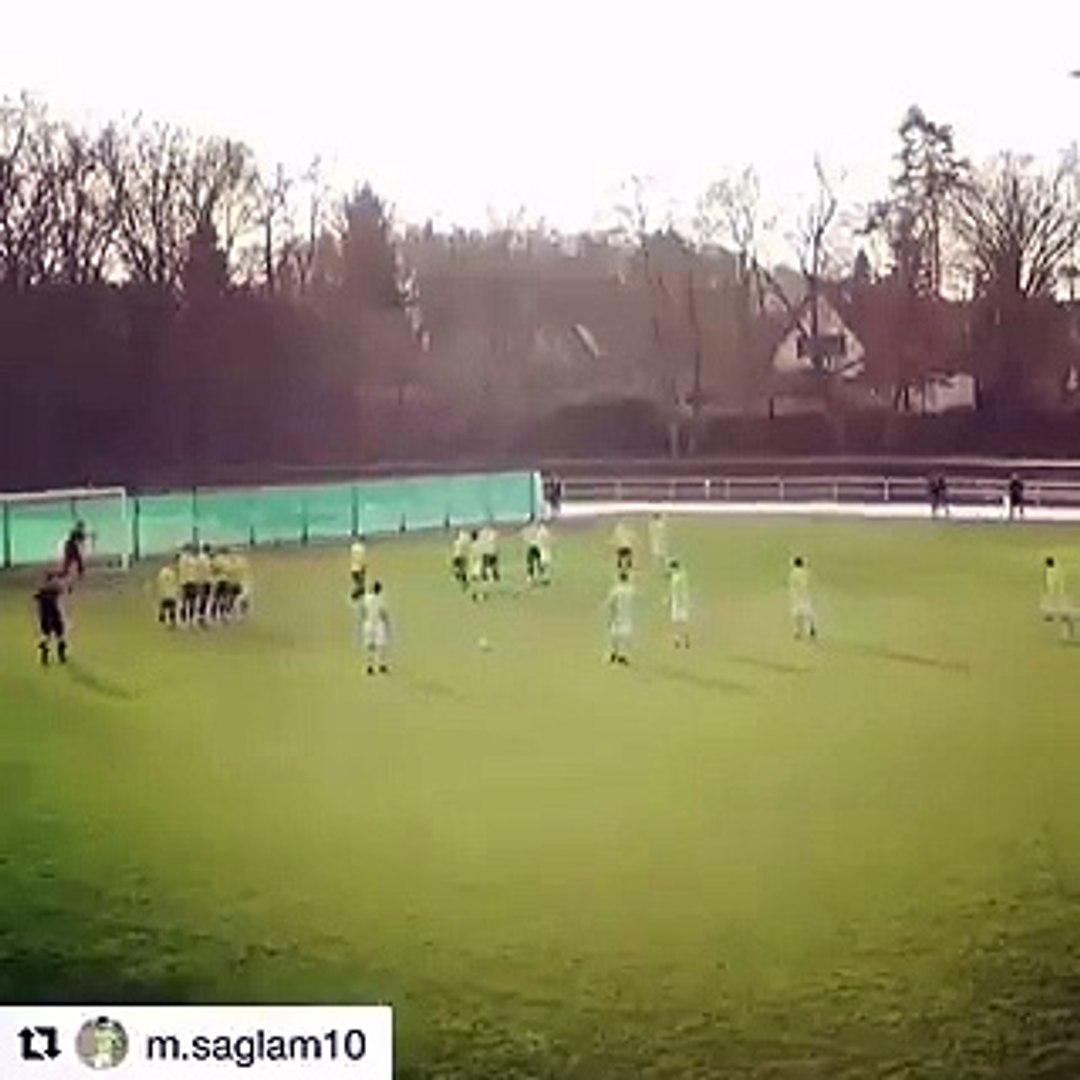 Fenerbahçe'nin yeni transferi Murat Sağlam'dan frikik golü!