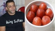 Salman Khan enjoys gulab jamun for Bharat's success in his cheat meal   Boldsky