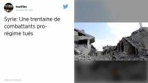 Syrie. 35 combattants tués dans le nord-ouest