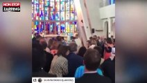 Mariage de Laura Smet : Son frère David Hallyday l'amène à l'autel (Vidéo)