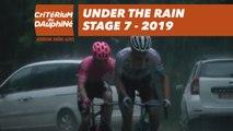 Under the rain - Étape 7 / Stage 7 - Critérium du Dauphiné 2019