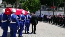 MERSİN Uzman çavuşlar kaza yaptı 2 ölü, 1 yaralı-EK
