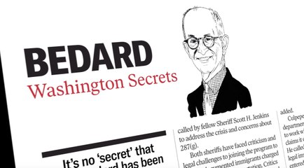 Columnist Paul Bedard on the expanded Washington Examiner magazine