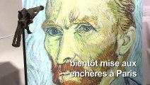 """Le """"revolver de Van Gogh"""" adjugé 162.500 euros à Paris"""