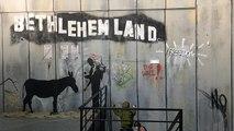 """New York'tan Filistin'e """"Banksy'nin Dünyası"""" Paris'te"""