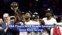 Kawhi Leonard Is Joining The Greats Of The NBA