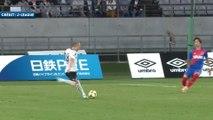 La très belle frappe d'Andrés Iniesta au Japon