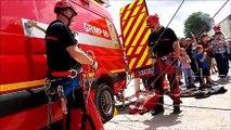 Vaucouleurs reçoit la journée nationale des sapeurs-pompiers de la Meuse