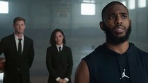 "MEN"" IN BLACK -  INTERNATIONAL' - NBA Finals - Chris Paul"