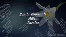 Lynda Sherezade - Adieu Feat Dadju (Paroles)