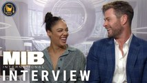 Men in Black: International Exclusive Interviews with Chris Hemsworth, Tessa Thompson and More