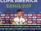 """Tagliafico : """"Messi a toujours faim"""""""