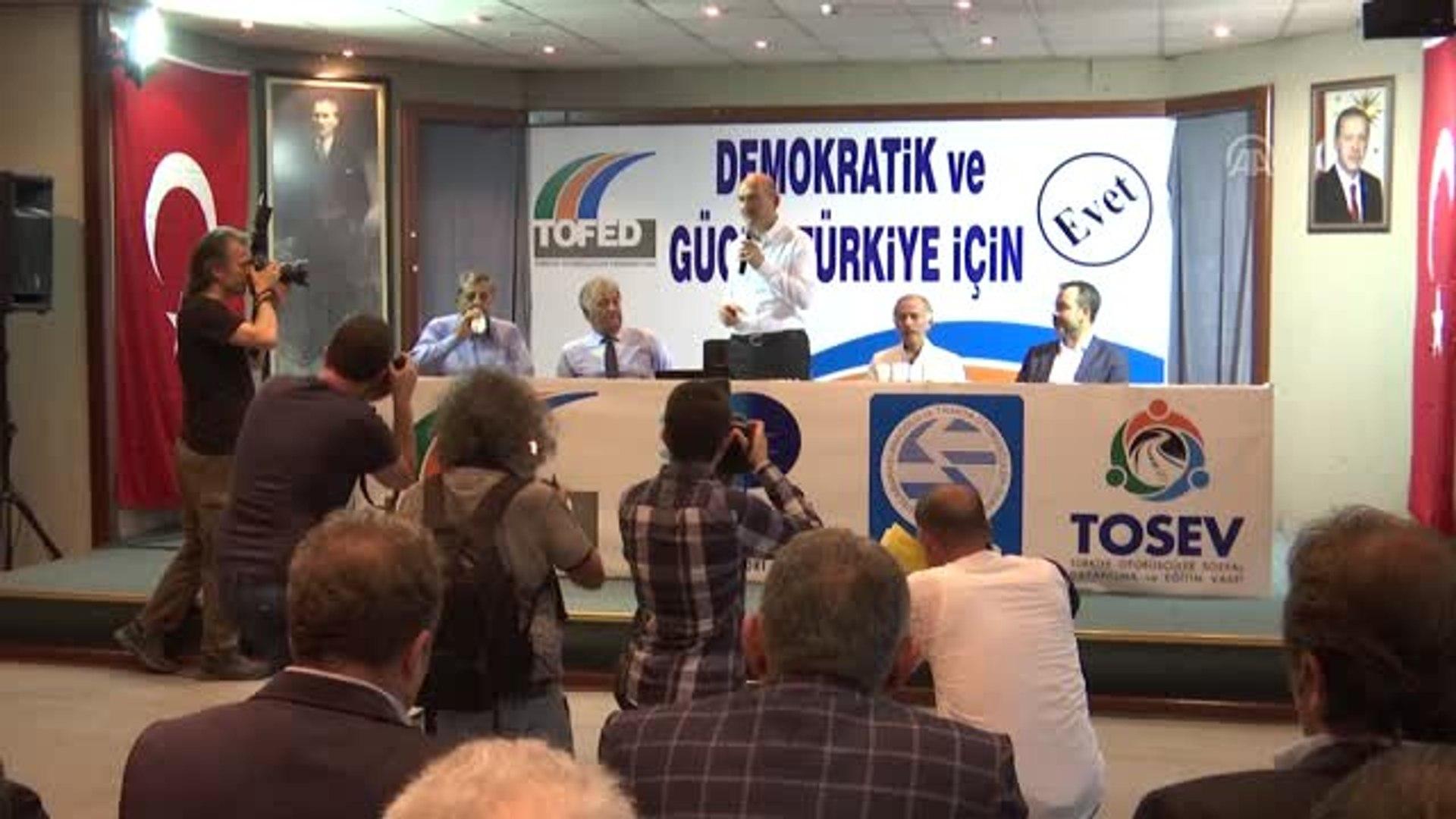 Bakan Soylu Tofed I Ziyaret Etti Istanbul