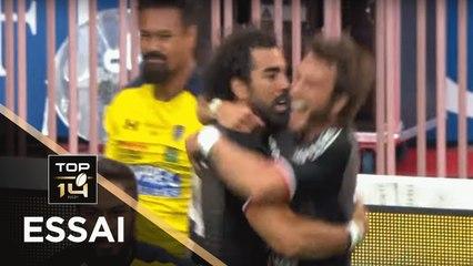 TOP 14 - Essai Yoann HUGET 1 (ST) - Toulouse - Clermont - Finale - Saison 2018/2019